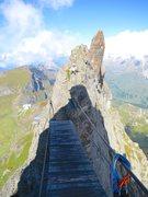 Rock Climbing Photo: The bridge