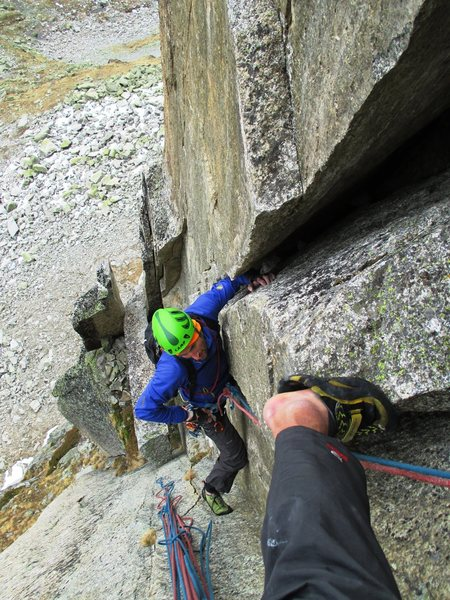 Pitch three of Sacremotion (6b)