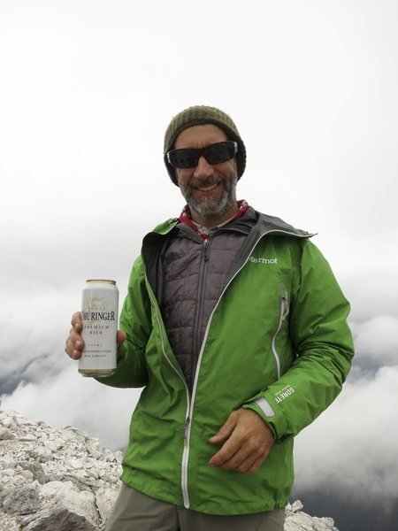 Rock Climbing Photo: Prost! Summit beer tastes SO good!!!