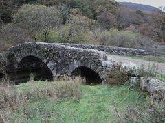 Rock Climbing Photo: Old Bridge near village of Buttermere