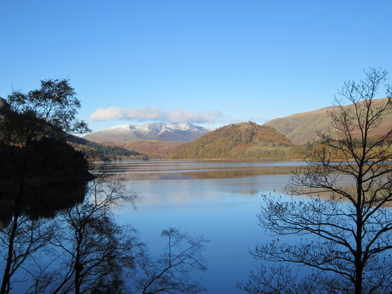 Thirlmere Lake and Blencathra Mt, NW England