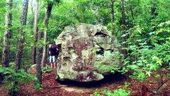 Rock Climbing Photo: Monster boulder