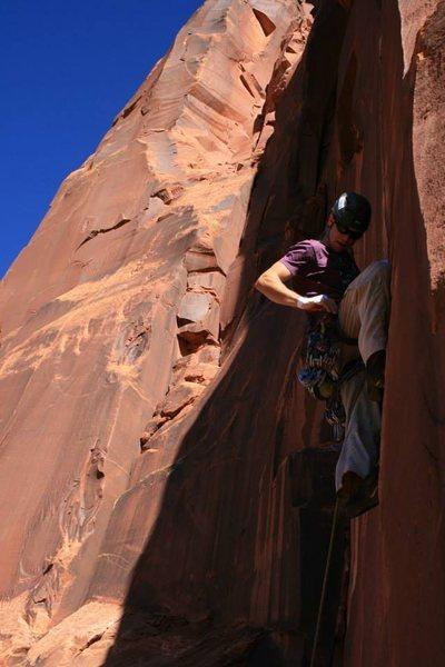 Rock Climbing Photo: Loving the thin hands start