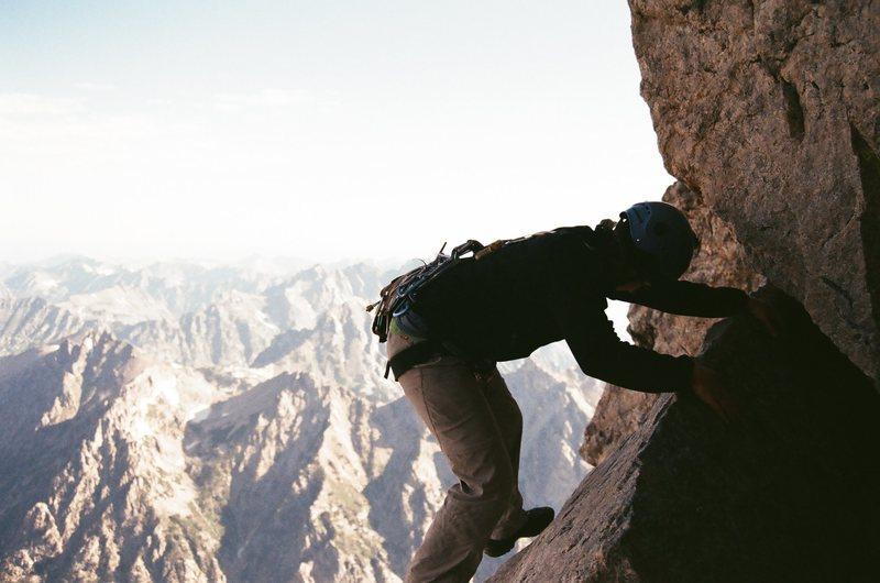 Rock Climbing Photo: Owen Spalding Route, Grand Teton