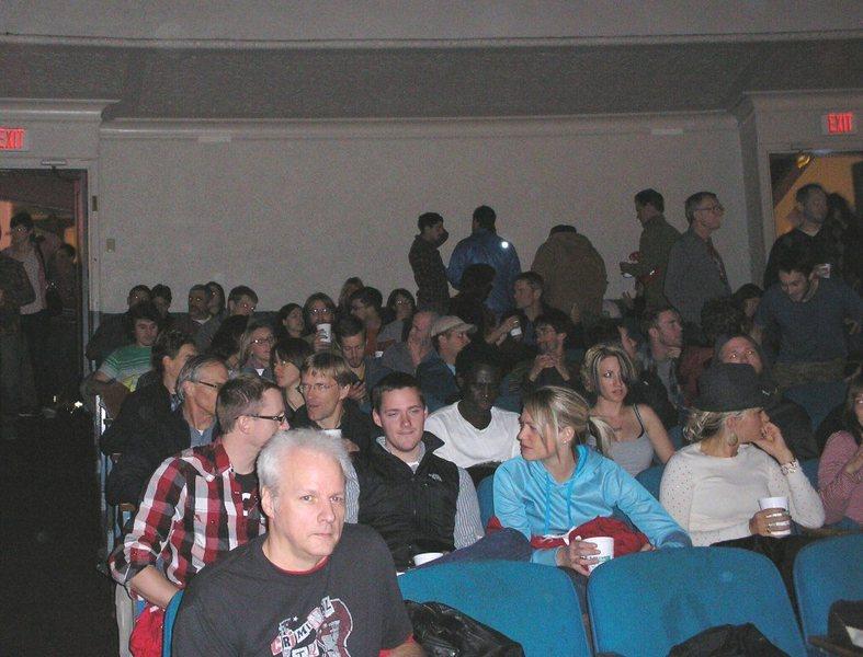 crowd anticipates the big show