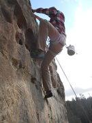 Rock Climbing Photo: Nearing the finish