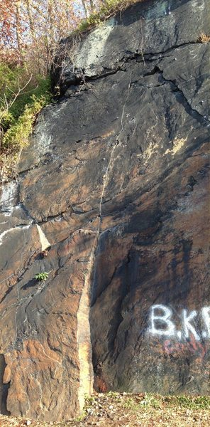Rock Climbing Photo: Copperhead Road