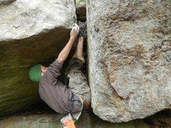 Rock Climbing Photo: Me on Shadows Everwhere
