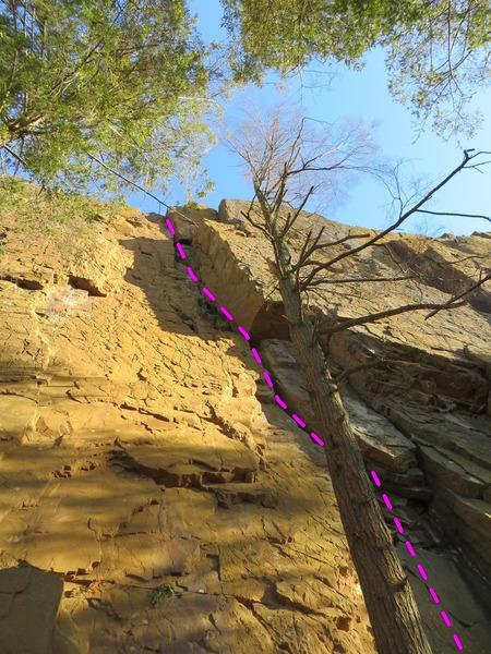 Rock Climbing Photo: Wishbone