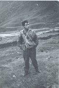 Rock Climbing Photo: PR Styhead Pass Cumbria UK 1954.Complete rack of g...