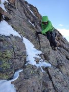 Rock Climbing Photo: Expect a bit of this on the walkoff - a rap statio...