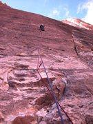 Rock Climbing Photo: POD, P2, Red Rocks