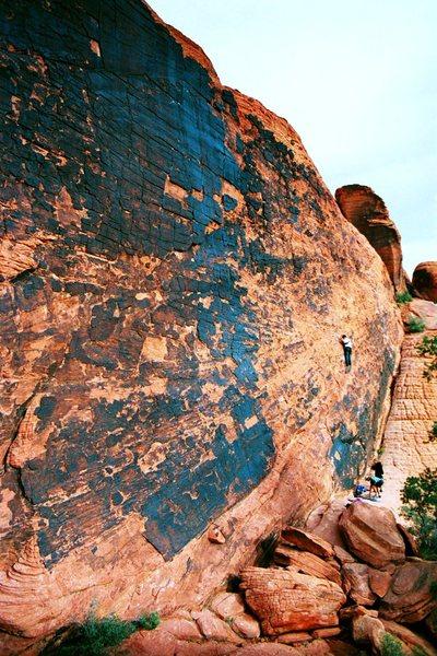 Panty Wall, Red Rocks, NV