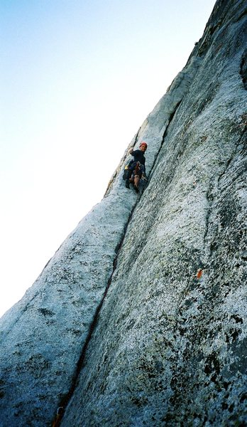 Rock Climbing Photo: Fairview dome