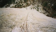 Rock Climbing Photo: Snake Dike, Half Dome