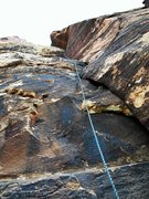 Rock Climbing Photo: Black Orpheus, P1