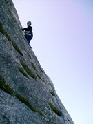 Rock Climbing Photo: The Nose, looking glass, NC