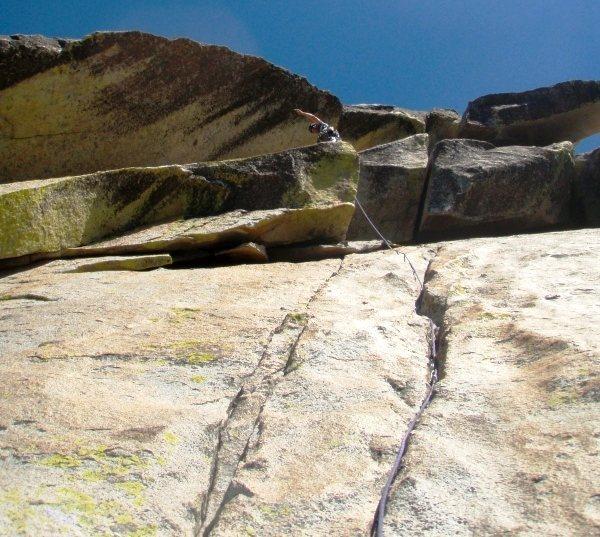 Rock Climbing Photo: White Punks On Dope, Needles, CA