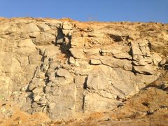 Rock Climbing Photo: Riverside Quarry, Riverside, CA. Schoolhouse Rock ...