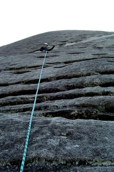 Nose P1, Looking Glass Rock, NC