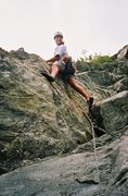 Rock Climbing Photo: table Mt NC