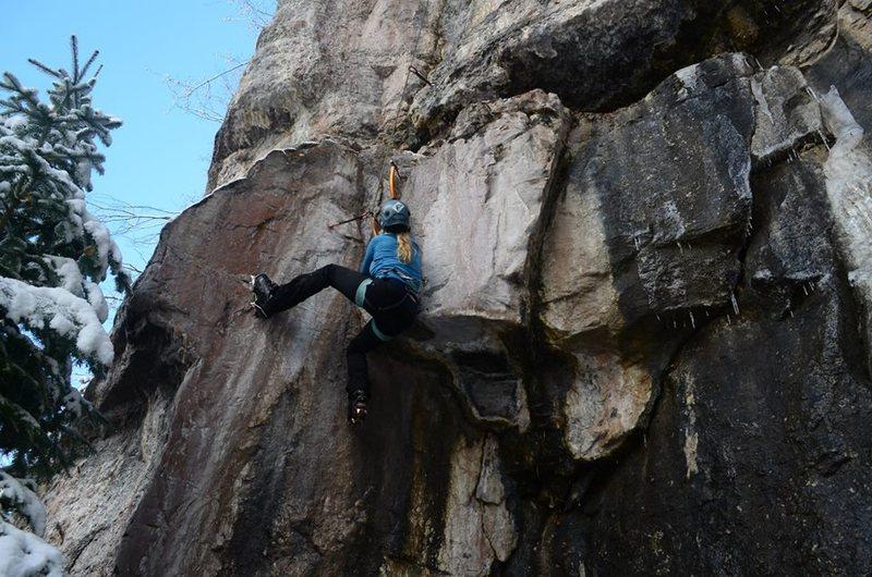 Rock Climbing Photo: mixed madness