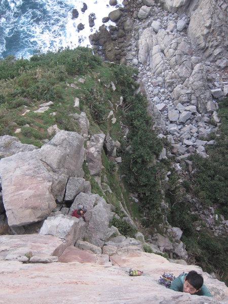 Rock Climbing Photo: Chester crushing it  Photo by Huang Liting