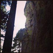 Rock Climbing Photo: The Scorpion arete.