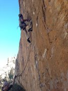 Rock Climbing Photo: Technical powerful sustained... Going for the seco...