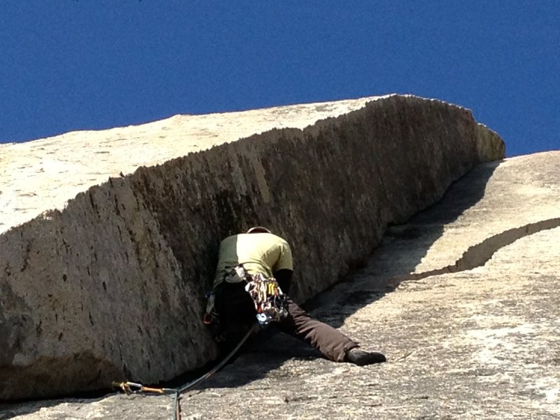 Rock Climbing Photo: Mr. Wizard , I bailed out right shortly after this...
