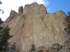 Rock Climbing Photo: Main Line is BEEEG
