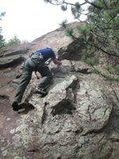Rock Climbing Photo: Babyhorn.