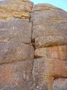 Rock Climbing Photo: The crack and the climb.