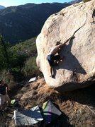 Rock Climbing Photo: Tim King climbing Lactose Tolerant.