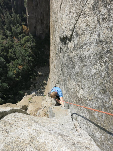 Rock Climbing Photo: More 5.10 hands, pitch 6.