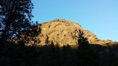 Rock Climbing Photo: reeds pinnacle as viewed from top of generator cra...