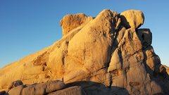 Rock Climbing Photo: Chimney Rock East Face