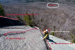 Rock Climbing Photo: Wasabi Groove, 5.8.