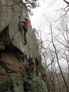 Rock Climbing Photo: The lower seam offers better gear than it first ap...