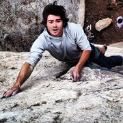 Rock Climbing Photo: Lam on Gaucho.