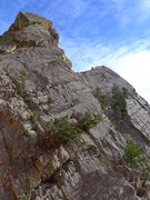 Rock Climbing Photo: Tower One and Lumpe Tower from Zot Face.