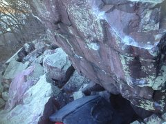 Rock Climbing Photo: This shows the steepness of the wall.