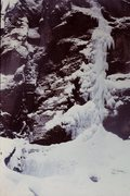 Rock Climbing Photo: Bridalveil Falls, Telluride in 1977.    Drove from...