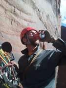 Rock Climbing Photo: Enjoyin some diesel towards the top of a two-day m...