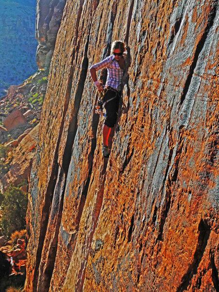 Rock Climbing Photo: Choo choo