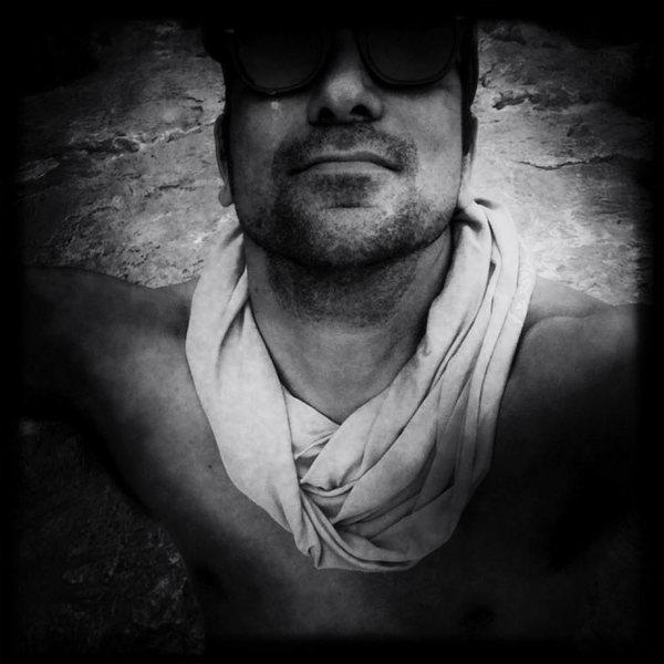 self portrait @ muffin man 5.12 on sight (flash)El Potrero Chico.