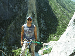 Rock Climbing Photo: Me @ Summit Yankee Clepper