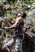 Rock Climbing Photo: photo taken on the reservoir side of storm mountai...