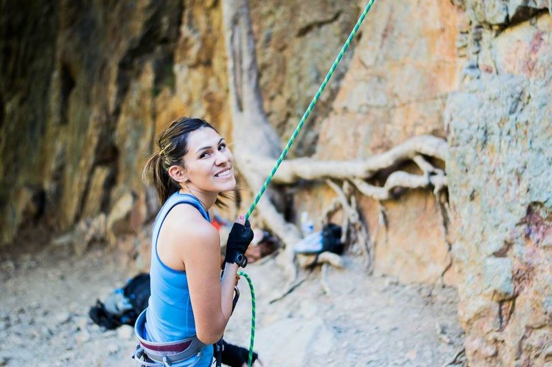 easy climbing 5.6 on north side of storm mt.
