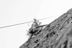 Rock Climbing Photo: 5.7 all day (storm mt.)